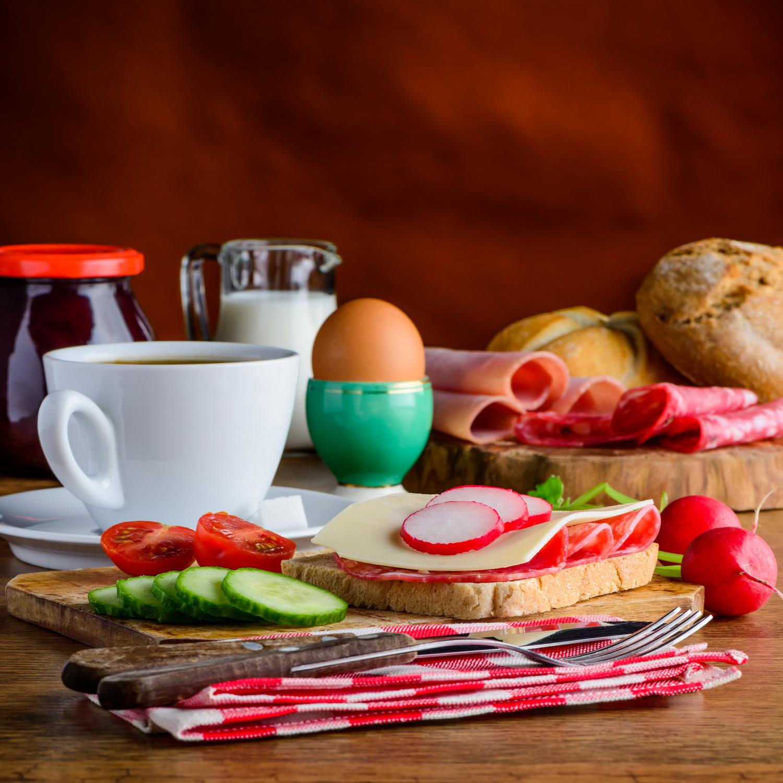 Morning Breakfast Food